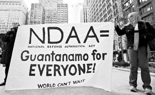 UNDO NDAA (National Defense Authorization Act of 2012)