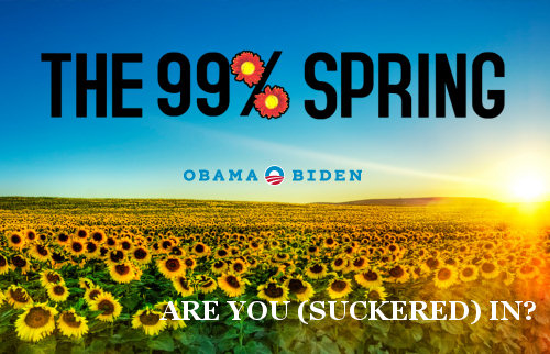 99% Spring: Spring 99% Co-Opts OWS for Bushbama