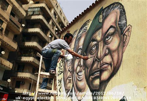 Egyptian chapter of Arab Spring ends not as scripted