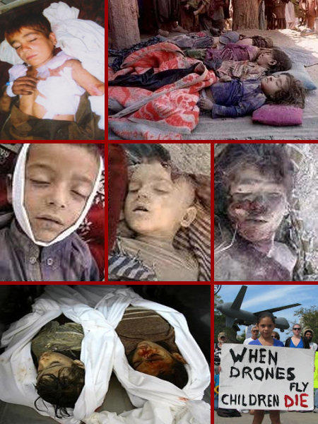 When Drones Fly Children Die